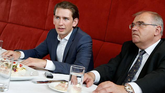 Sebastian und Wolfgang: Best Friends! (Bild: Zwefo)