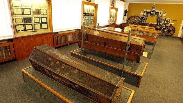 Das Bestattungsmuseum wird um 2,5 Millionen Euro umgebaut. (Bild: Zwefo)