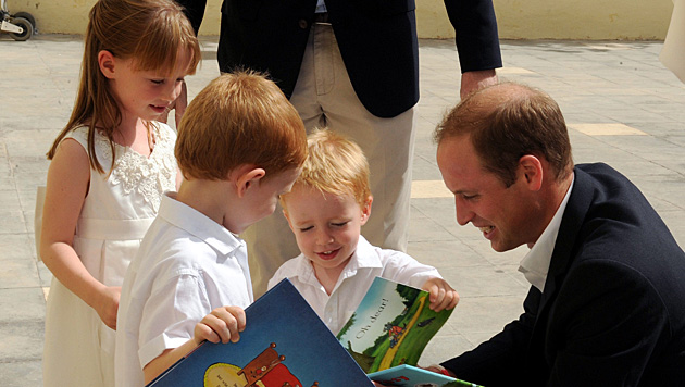 "Prinz William verriet auf Malta: Kate geht""s ""so lala"". (Bild: APA/EPA/JEREMY WONNACOTT/DOI/POOL)"