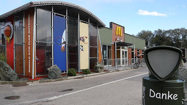 "Bereits zum dritten Mal wurde diese McDonald""s-Filiale in Klagenfurt überfallen. (Bild: Uta Rojsek-Wiedergut)"