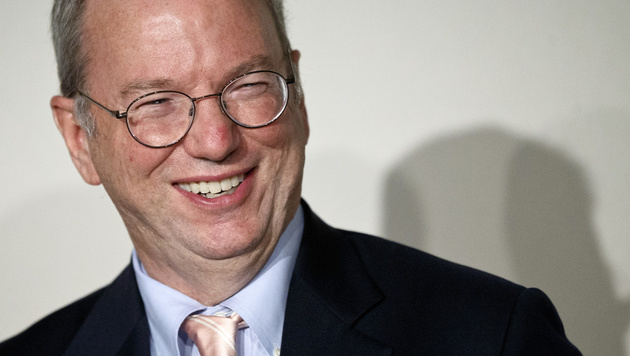 Google-Chef Schmidt fordert mehr Freiheiten von EU (Bild: AP)