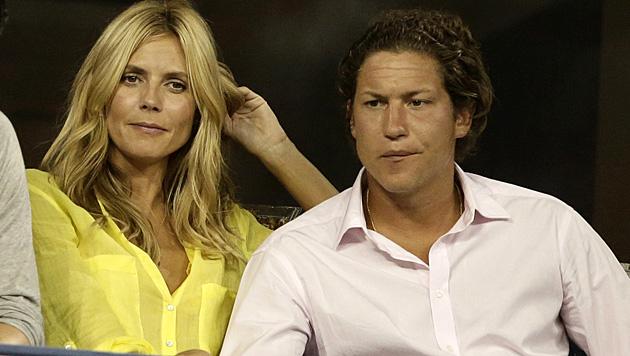 Heidi Klum turtelt derzeit mit Vito Schnabel. Sie ist 41, er erst 28. (Bild: APA/EPA/JASON SZENES)