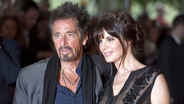Al Pacino hat sich mit seinen 74 Jahren die 25-jährige Lucila Sola geangelt. (Bild: APA/EPA/WILL OLIVER)