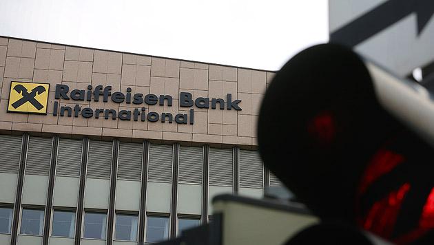 Raiffeisen in Turbulenzen - RBI-Aktie stürzt ab (Bild: APA/Georg Hochmuth)