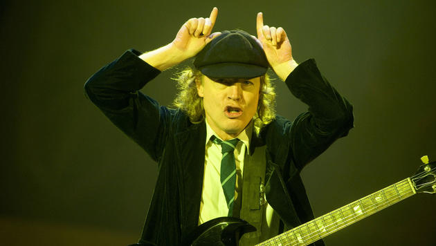AC/DC fertigen neues Album und kündigen Welttournee an (Bild: Action Press / picturedesk.com)