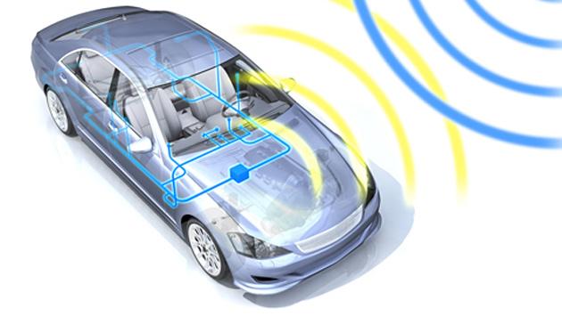 Chip-Technik für vernetzte Autos geht in Serie (Bild: NXP)