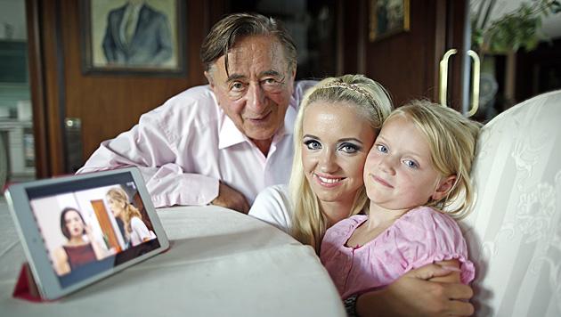 """Richard Lugner will """"Spatzis"""" Tochter Leonie nicht adoptieren. (Bild: Reinhard Holl)"""