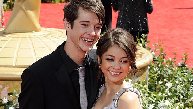 2010 waren Matt Prokop und Sarah Hyland noch ein glückliches Paar. (Bild: PAUL BUCK/EPA/picturedesk.com)