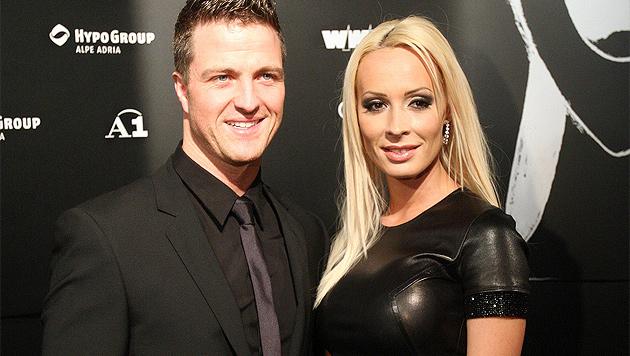 Ralf Schumacher und seine Cora: Scheidung! (Bild: APA/Georg Hochmuth)