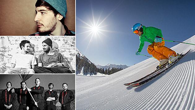 Ski-Opening: Heißer Start in die kalte Saison (Bild: Universal Music, Philipp Weise, Sony Music, Gregor Hartl)