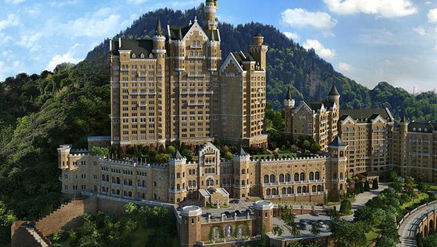 Chinesen bauen deutsches Märchenschloss nach (Bild: starwoodhotels.com)