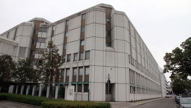 Das neue Flüchtlingsquartier in der Wiener Erdbergstraße 186â013196. (Bild: ANDI SCHIEL)