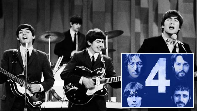 Vier Solo-Songs der Ex-Beatles gratis bei iTunes (Bild: AP, iTunes)