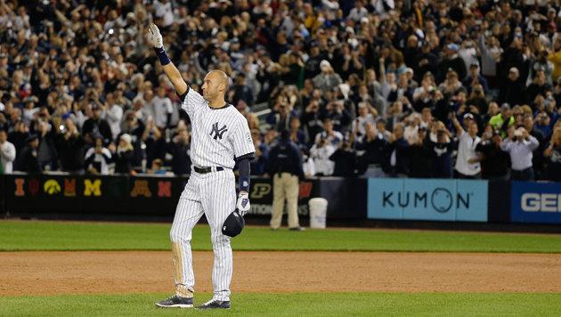 Hollywood-reifer Abschied von Baseballstar Jeter (Bild: AP/Julie Jacobson)