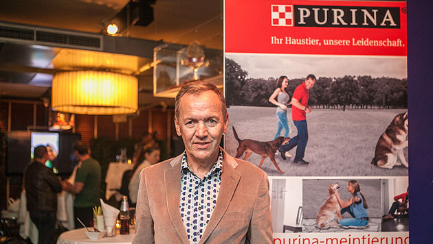 Gastgeber Ossi Schellmann (Bild: Purina Petcare Austria)