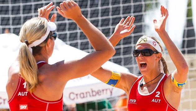 Schwaiger/Hansel kehren in Gstaad auf Tour zurück (Bild: FIVB)