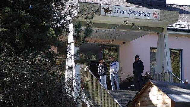 "Im ""Haus Semmering"" leben nun 200 Flüchtlinge. (Bild: Martin A. Jöchl)"