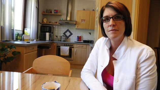 Die zweifache Mutter Nicole Riegler kämpft gegen ihre Vorurteile an. (Bild: Martin A. Jöchl)