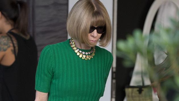 Vogue-Chefin Anna Wintour (Bild: AP)
