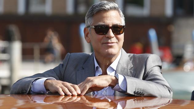 Heirat in Venedig: George Clooney unter der Haube (Bild: AP)