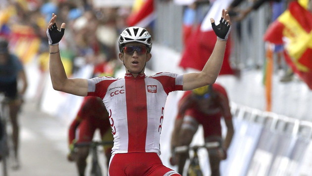 Valverde Dritter! Pole sensationell Weltmeister (Bild: APA/EPA/JAVIER LIZON)