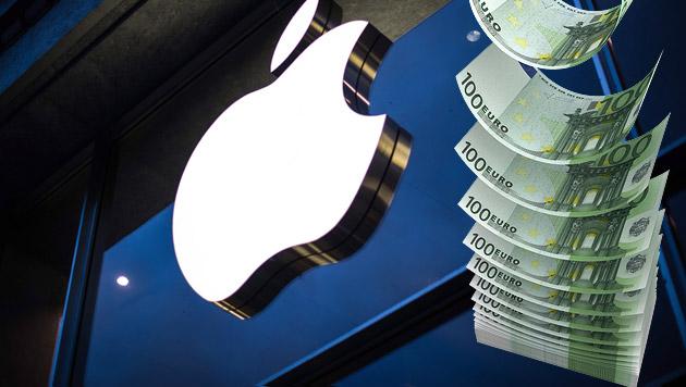 Apple drohen Strafzahlungen in Milliardenhöhe (Bild: EPA, thinkstockphotos.de)