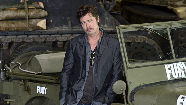 """Brad Pitt über die Ehe: """"Da steckt mehr drin!"""" (Bild: APA/EPA/BEN BIRCHALL)"""