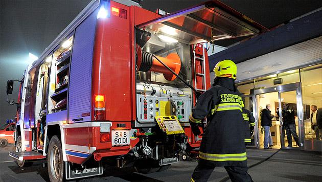 Brand in Salzburger Behindertenheim: 3 Verletzte (Bild: APA/BARBARA GINDL (Symbolbild))