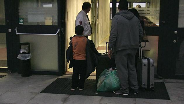 Die Asylwerberunterkunft in Wien-Erdberg wird reaktiviert. (Bild: krone.tv)
