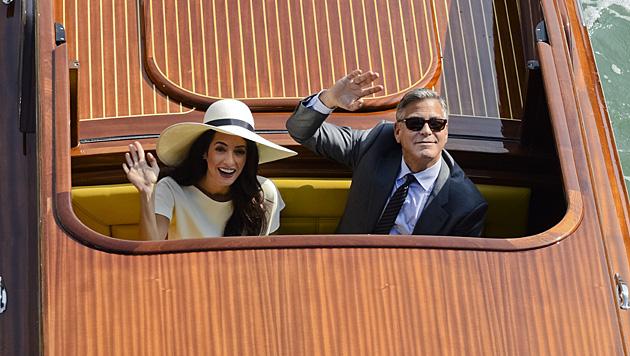 Mr. und Mrs. Clooney (Bild: AP)