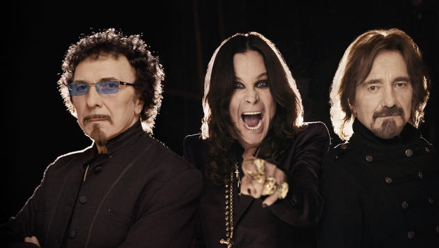 Heavy-Metal-Legenden Black Sabbath live in Wien (Bild: Universal Music)
