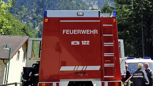 Käfer in Brand gesteckt - 15-Jähriger verletzt (Bild: APA/ANDREAS PESSENLEHNER)