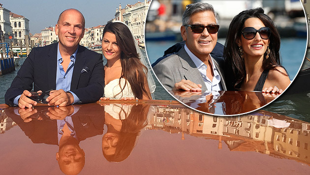 Lugner-City-Manager heiratete kurz vor Clooney (Bild: Privat, AP)