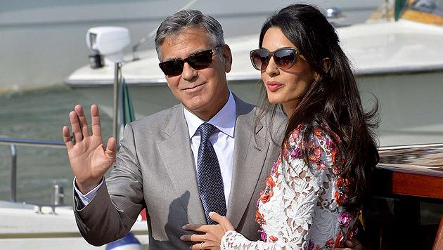 George Clooney und Amal gönnen sich Luxuseigenheim (Bild: AFP)