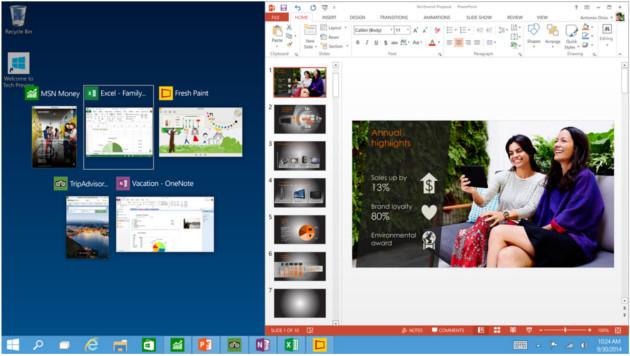 Programme in den Vordergrund zu holen, wird mit einem neuen Tool einfacher. (Bild: Microsoft)