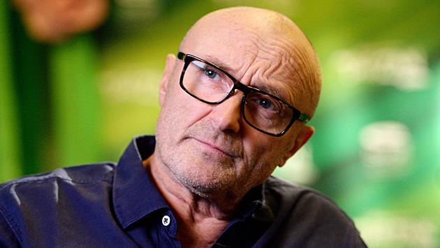 Phil Collins rechnete jetzt mit seinem Leben ab. (Bild: APA/EPA/DPA/BERND WEISSBROD)