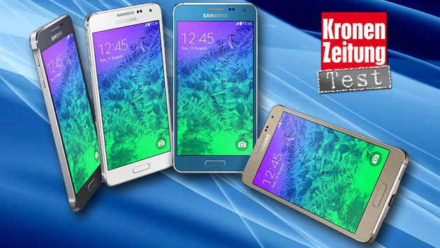 Samsung Galaxy Alpha: Der Alu-Koreaner im Test (Bild: Samsung, thinkstockphotos.de)