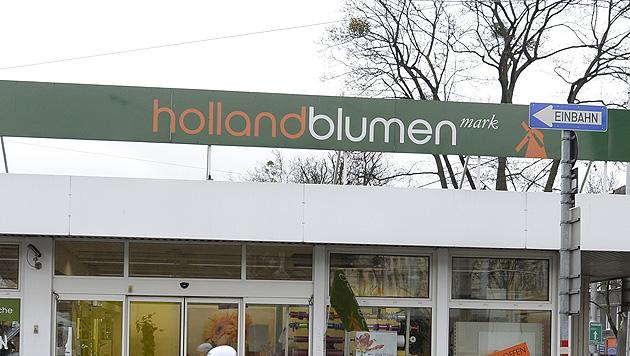 34 von 85 Holland-Blumen-Mark-Standorten vor Aus (Bild: APA/HERBERT NEUBAUER)