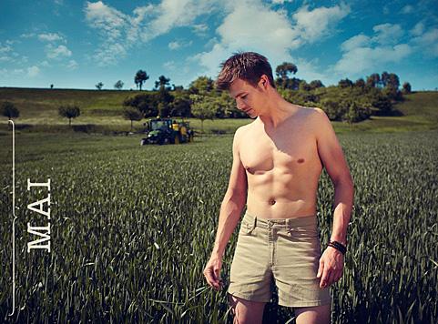 Mai: Stefan aus der Steiermark (Bild: Jungbauernkalender 2015/Julia Spicker)