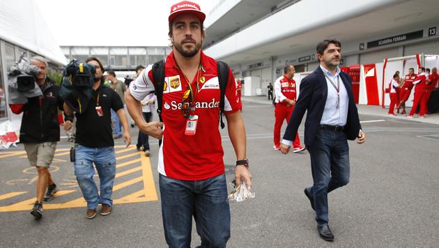 Fernando Alonso: Wieder kein Bekenntnis zu Ferrari (Bild: AP)