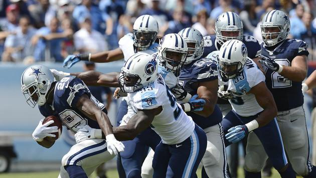 Wirbel bei den Dallas Cowboys: Ein Spieler wird angeklagt (Bild: AP)