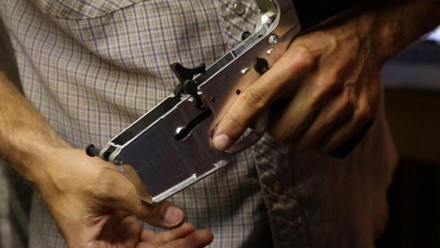 Mini-Fräse für den PC fertigt Sturmgewehrteile (Bild: Defense Distributed)