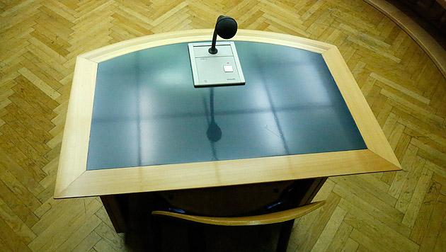 Räuber überfiel Bank mit Messer: 12 Jahre Haft (Bild: Martin A. Jöchl)