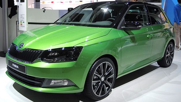 skoda fabia geht gegen den vw polo in f hrung modernere. Black Bedroom Furniture Sets. Home Design Ideas