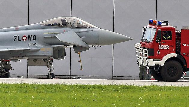 """""""System Eurofighter"""" nur noch 5 Jahre in der Luft? (Bild: Christof Birbaumer)"""