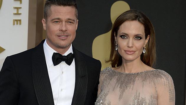 Brad Pitt und Angelina Jolie (Bild: APA/EPA/MIKE NELSON)