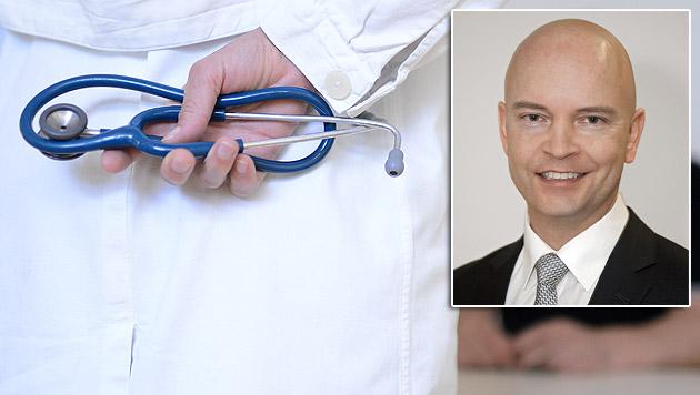 Udo Janßen ist neuer Chef des Wiener Krankenanstaltenverbundes. (Bild: APA/HELMUT FOHRINGER, APA/KAV/BERNHARD NOLL)