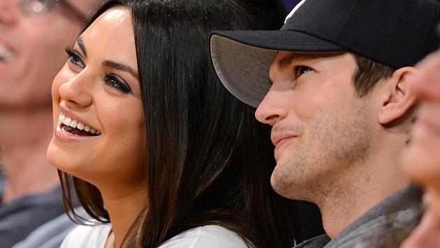 Mila Kunis' und Ashton Kutchers Tochter heißt Wyatt Isabelle. (Bild: AFP)