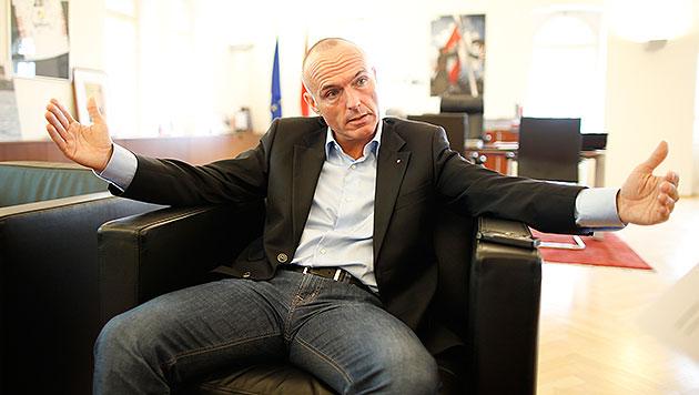 """Klug: """"Wehtun ist keine politische Kategorie"""" (Bild: Reinhard Holl)"""