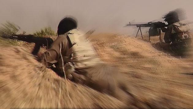 Islamisten wollten biologische Waffen einsetzen (Bild: APA/EPA/ALBARAKA NEWS)